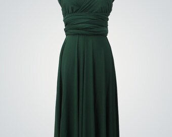 Short Green Prom Dress,GreenShort Evening Dress,Formal Party Dresses,Handmade Elegant Satin Prom Dress