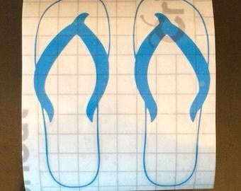 Flip Flop Decal
