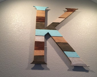 Wood Letters - Reclaimed Pallet Wood Wall Art