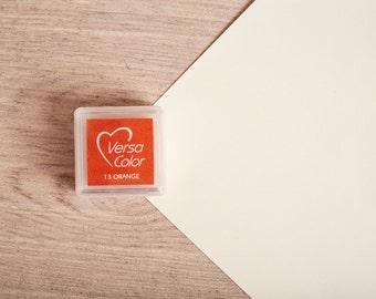 Orange - Rubber Stamp Mini Ink Pad