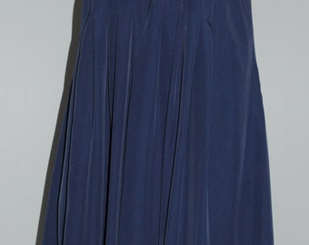 Vintage blue strap dress Size 36 FR