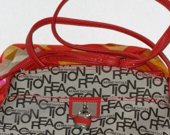 Kenneth Cole: Reaction handbag GENUINE LEATHER