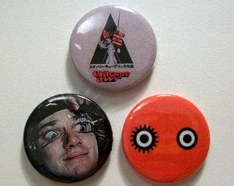 A Clockwork Orange Pin Button Badges