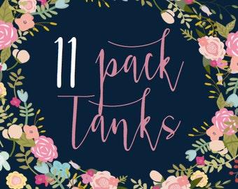 11 Pack of Tanks