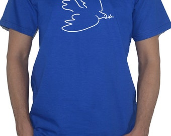 Dove by Pablo Picasso T-Shirt - Classic Art Top
