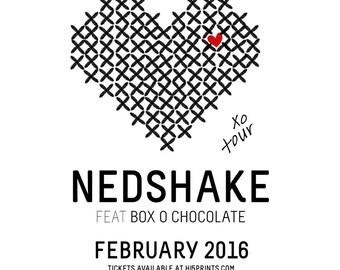 Fake Concert Tee Nedshake