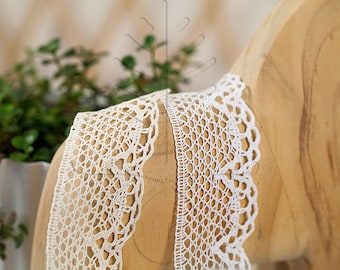 Noble Torsion Lace 44 mm, 1 meter - 1,09 yards or 3,28 feet, 2 colours available