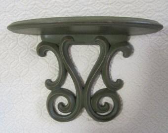 Knick Knack Shelf, Green, Vintage