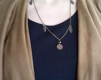 "Chain ""bronze leaves"""