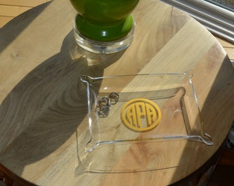 Personalized Acrylic Jewelry Tray - monogrammed lucite tray