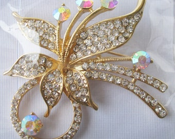1 pc rose gold Cheap gold brooches, wholesale brooches, DIY bouquet