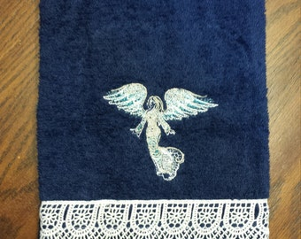 Angelic Lace Hand Towel