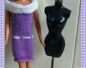 Barbie dress handmade design  (22)
