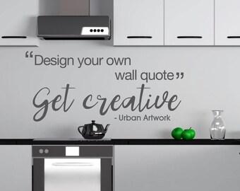 Custom Wall Decal, Custom Wall Stickers, Custom Wall Quotes, Custom Decal, Custom Stickers, Custom Wall Decor