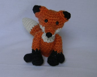 Fitzy the Fox - crochet, amigurumi, stuffed animal, plushie