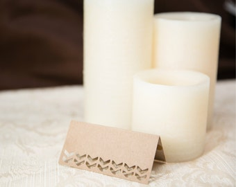 Wedding Place Cards, Chevron Table Cards, Chevron Place Cards, Elegant Place cards, Wedding Escort Cards, Custom Place Cards, Table Cards