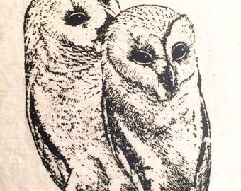 Sister Owls patch