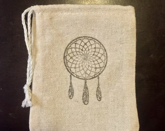 Customize A Burlap Drawstring Bag To Add To Your Purchase