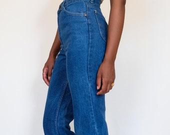 Jeans 70s Vintage high waist denim Sz. 25