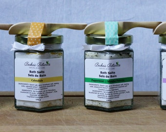 Bath Salts / Lavender / Rose / Calendula / Peppermint