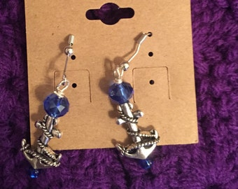 Anchor earrings!
