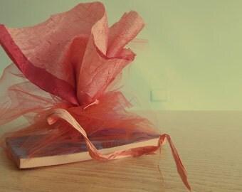Handmade favor notepads