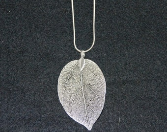 Leaf Silhouette Necklace