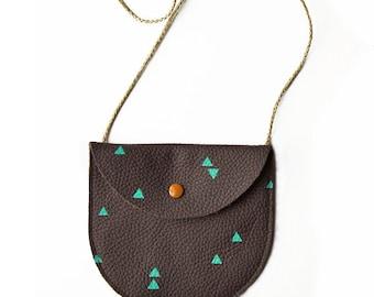Triangle -  Genuine Leather Bag