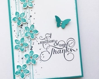Thank You Card -- A Million Thanks