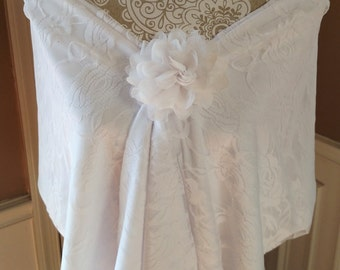 Bridal Shawl Lace Wedding Shawl Wedding Wrap Great Bridal Shower Gift for the Bride to Be!