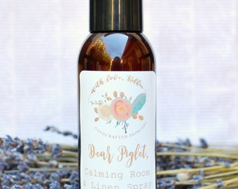 Natural Room Spray - Calming - Essential Oil Room Spray - Room Freshener - Aromatherapy Spray - Room Deodorizer - Natural Air Freshener