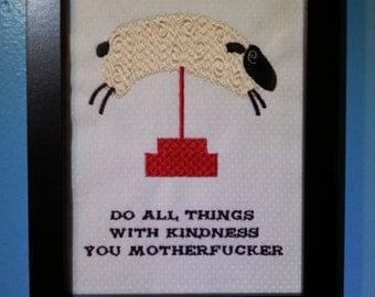 Be Kind, M-F'ers