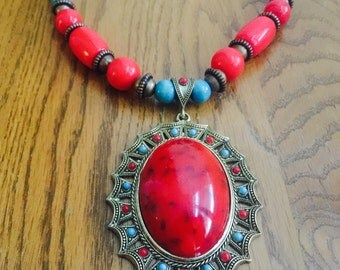 Handmade Kenyan Necklace