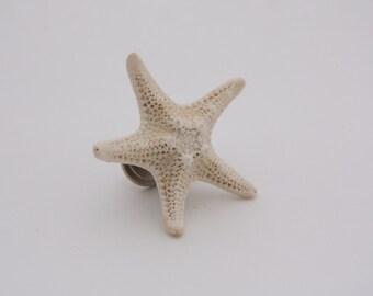 Starfish Drawer Pull // Shell Drawer Hardware // Beach Cabinet Pull // Shell Drawer Knob