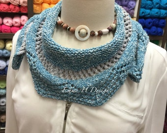 Mini summer cotton shawl