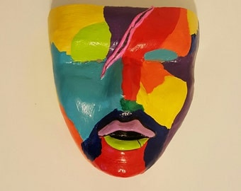 Hand Made Abstract Decorative Mask