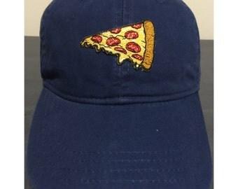 Cheesy pizza hat