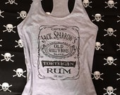 Jack Sparrow Rum Shirt, Pirates of the Caribbean, Pirate