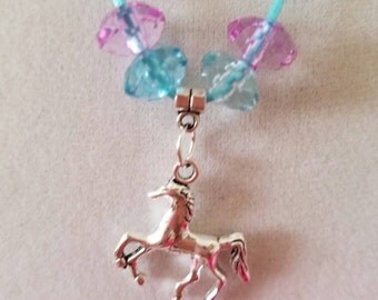 10 Pieces - Horse Necklaces