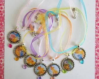 10 Pieces - LION GUARD necklaces party favors