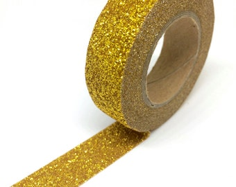 Extra Glittery Gold Glitter Washi Tape