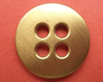 9 metal buttons gold 18 mm 21 mm (6236 6085) metal buttons button