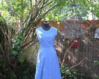 """Apron"" 1950 dress"