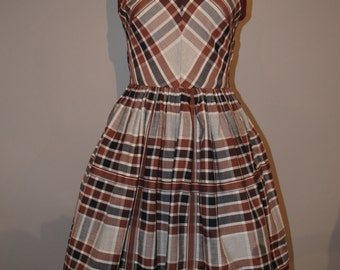 dress in cotton  1950