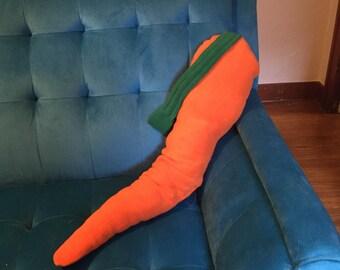 Three Foot Carrot Plush~ Medium