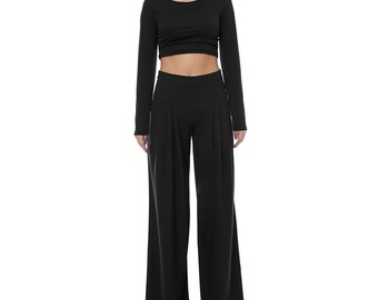 Soft and flowy wide leg pants