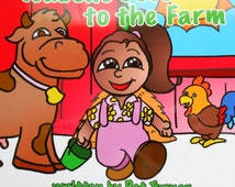 Isabelle Goes to the Farm, Children's book, Christian book, family, bedtime, animals, farm, Pat Turner, Chris Padovano, cows, chickens, pray