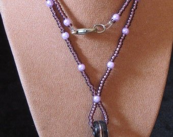 "18"" Handmade Beaded Necklace (PH39)"