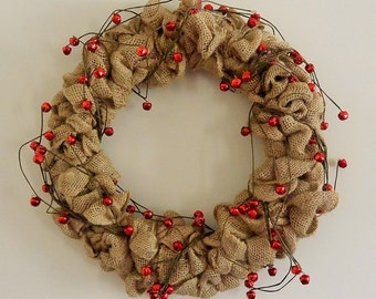 Fabulous Christmas Wreath (complete with jingle bells!)