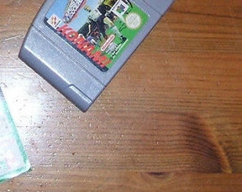 INTERNATIONAL SUPERSTAR SOCCER Nintendo 64 game cartridge